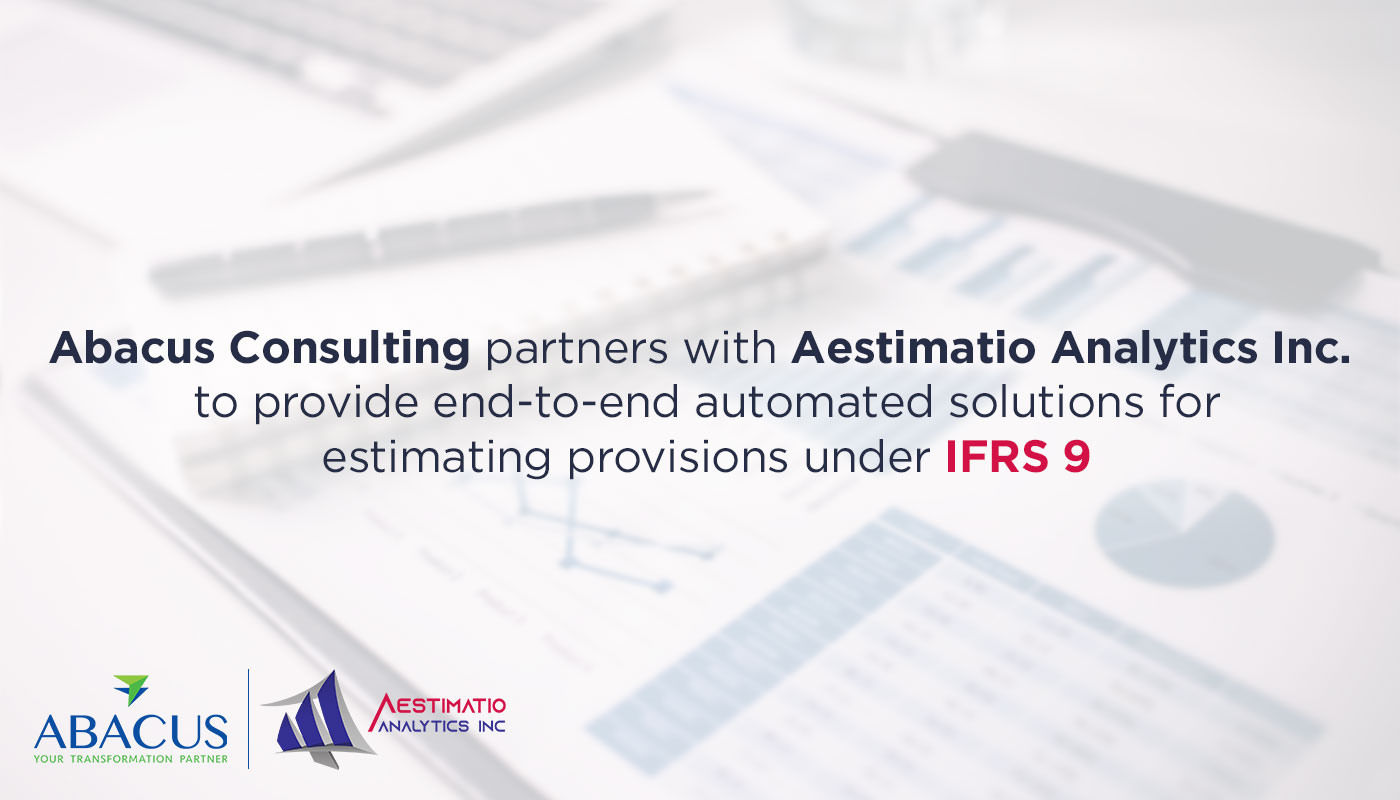 Aestimatio sign agreement to provide IFRS-9 services in Pakistan